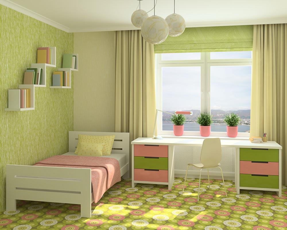 Как правильно выбрать шторы в детскую комнату